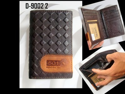 Dompet Kulit Wanita Leather Wallet 2